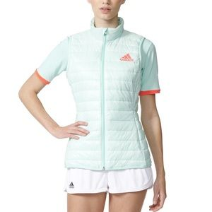 Adidas Light Mint Green All Premium Tennis Vest